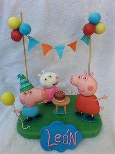 peppa pig adorno torta