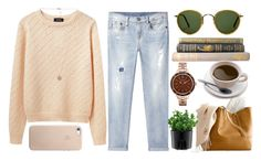 19th July: Cigarettes didn't phase me, cuts didn't scare me, drugs didn't need me but god I went an hour without you and I finally realized what addiction was like. by crystalisedd on Polyvore featuring A.P.C., R13, Caravelle by Bulova, Michael Kors, Oliver Peoples, Bodum and ASUS