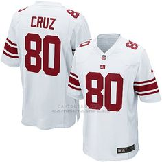 8174ec011 Camiseta New York Giants Cruz Blanco Nike Game NFL Nino Replicas -  camisetasnfl.es New