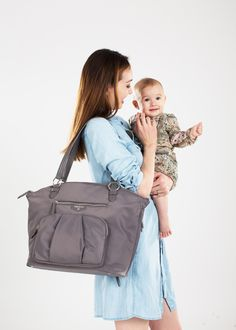 The diaper bag for m