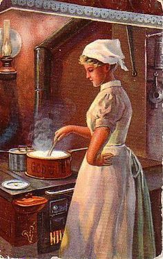 Christmas Cooking 1909 Jenny Nystrom