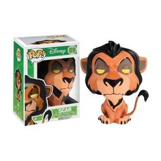 Funko POP! Disney The Lion King Scar Action Figure ❤ liked on Polyvore featuring pop and toys and games