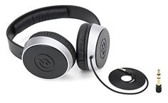 Introducing Samson SR550 OverEar Studio Headphones. Great Product and follow us to get more updates!