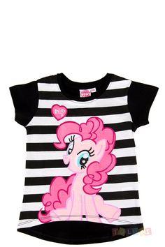 T-shirt My Little Pony Pinkie Pie https://www.toluki.com/prod.php?id=1149 #enfant #Toluki #LittlePony