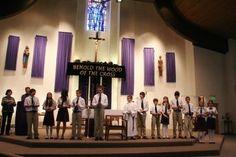 Saint John the Evangelist Catholic School Regional Science Fair!!