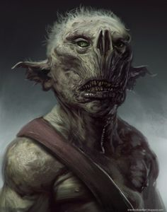 goblin dude by *brenthollowell on deviantART