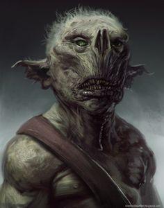 goblin dude by *brenthollowell on deviantART
