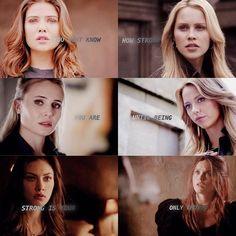 Davina - Rebekah - Cami - Freya - Hayley - Aurora