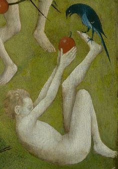 Detail from The Garden of Earthly Delights by Hieronymus Bosch, Hieronymus Bosch, Jan Van Eyck, Renaissance, Arte Tribal, Garden Of Earthly Delights, Dutch Painters, European Paintings, Medieval Art, Detail Art
