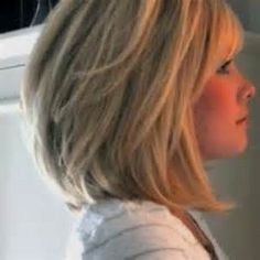 Hair Styles For Medium Length Hair – Hair Style Ideas Medium Short Haircuts, Bob Hairstyles For Thick, Long Bob Haircuts, Medium Hair Cuts, Stacked Hairstyles, Medium Bob With Bangs, Layered Haircuts, Long Hairstyles, Medium Cut