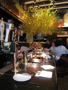 Gramercy Tavern...flower arrangement