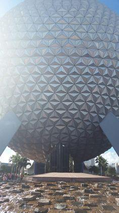 Spaceship Earth at Epcot - Walt Disney World.