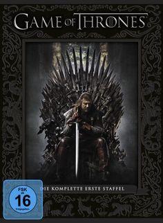 """Game of Thrones - Staffel 1.  Verfilmung der Buchreihe """"Das Lied von Eis und Feuer"""" von George R.R. Martin. #weltbild #gameofthrones #dvd"""