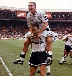 Paul Gascoigne. Tottenham.