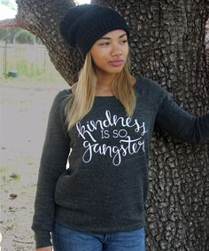 Kindness is so Gangster Fleece