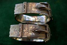 silver victorian cuffs