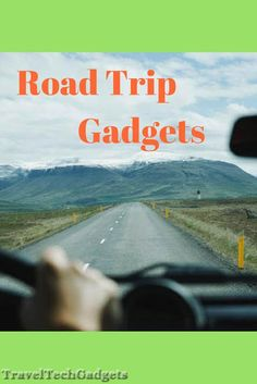 Genius Gadgets to Make Your Next the Best Road Trip Road Trip Theme, Road Trip Map, Road Trip Packing, Road Trip Essentials, Road Trip Hacks, Road Trips, Travel Packing, Best Travel Gadgets, Best Travel Gifts