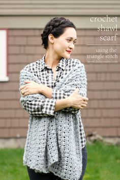 @deliacreates made this beautifully soft shawl in Lion Brand's Jiffy yarn!  Check out the crochet pattern on her blog!