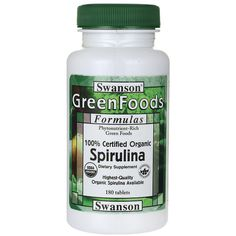 100 Certified Organic Spirulina, 500 mg 180 Tabs AED176.00 #UAESupplements