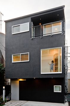 upsetters architects » PROJECTS » ARCHITECTURE » House in Kaminoge