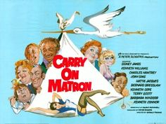 Carry On Matron 1972 Quad Poster