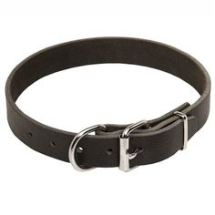 """This Extra Wide Leather K9 Collar looks great on, and fits, most dog breeds (up to 36"""" neck size). This collar measures a robust 1 1/5"""" (3 cm) wide, and is manufactured with 100% full grain genuine leather. This wide soft leather K9 collar is designed to be used for walking, obedience training, jogging, etc. http://www.k9dogequipment.com/Extra-Wide-Leather-K9-Collar-p/fdt-xwlk9c.htm"""