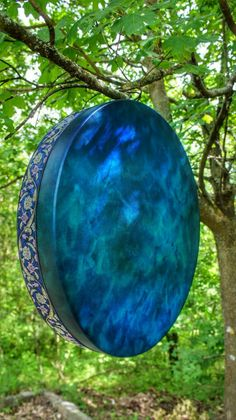 Shamanic drum - adore these colours