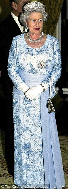Elizabeth II Lovely.. on my bucket list is to have high tea with her..