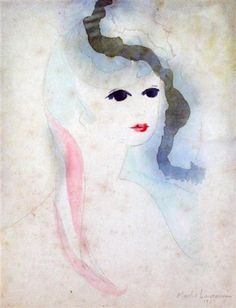 Marie Laurencin, Portrait of a Young Lady