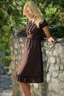 Flattering to a fault! love the feminine style. These dresses are definitely on my wish list!