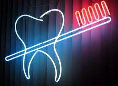 Dental neon light