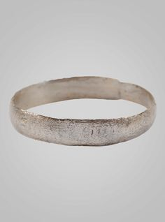 Authentic Ancient Viking Ring Silver over Bronze C.866-1067A.D. Size 10 (19.8mm)
