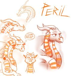 Sketches - Peril (WoF) by StarWarriors on DeviantArt