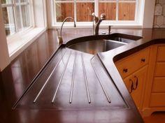 DIY Concrete Countertops | diy concrete countertop