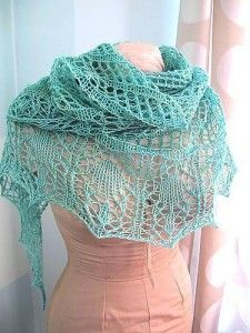Razor Shell Scarflette - Free Knitting Pattern for a