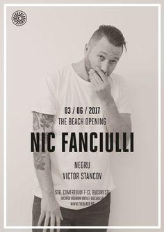 Bilete la The Beach Opening : Nic Fanciulli, Negru, Victor Stancov
