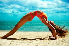 Beach Workout - Daily exercise will help to normalize your hormonal levels. This not only helps prevent cellulite, it will also help to prevent mood swings.