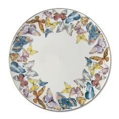 Floral Meadow Charger, Butterfly #williamssonoma
