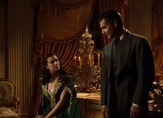 """""""Gone With the Wind"""": Vivien Leigh/Scarlett O'Hara & Clark Gable/Rhett Butler Go To Movies, Old Movies, Great Movies, John Clark, Rhett Butler, Turner Classic Movies, Tomorrow Is Another Day, Scarlett O'hara, Getting Him Back"""