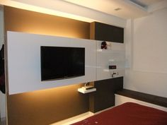 Simple feature wall