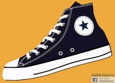 RARE Converse All Star Chuck Taylor Comic Book Pop Art Print High Top Sneaker | eBay