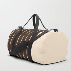 Stripes Duffle Bag by roxart Iphone Skins, Iphone Cases, Bags Game, Apparel Design, Laptop Skin, Shoulder Straps, Poplin, Travel Bags, Laptop Sleeves