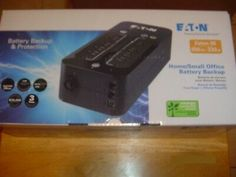 EATON 3S550 UPS Battery Back Up UPS Surge Protector **No Battery**