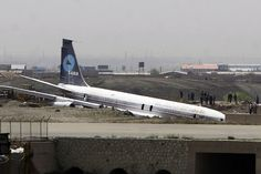 Saha Airline skids off run way