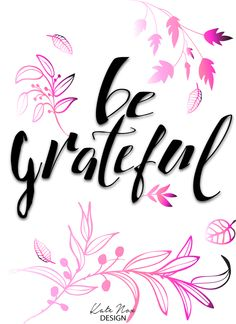 Why You Should Always Be Grateful - New Blog Post and Design