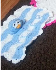 baby comforter by crochetcraziehand on Etsy