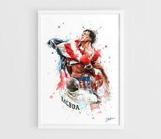 Sylvester Stallone Rocky Balboa Movie TV  A3 Art by NazarArt