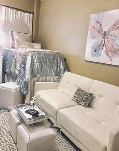 Bedroom Decor, Dorm Room Designs, First Apartment Decorating, Beautiful Dorm Room, Dorm Room Essentials, Room, Dorm Room Inspiration, College Bedroom Decor, Room Inspiration