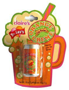 Claire's Orange lip balm | Flickr - Photo Sharing!