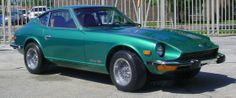 1974 Datsun 260Z - I had this car - same color and everything!